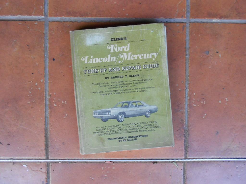 Ford Lincoln/Mercury workshop manual