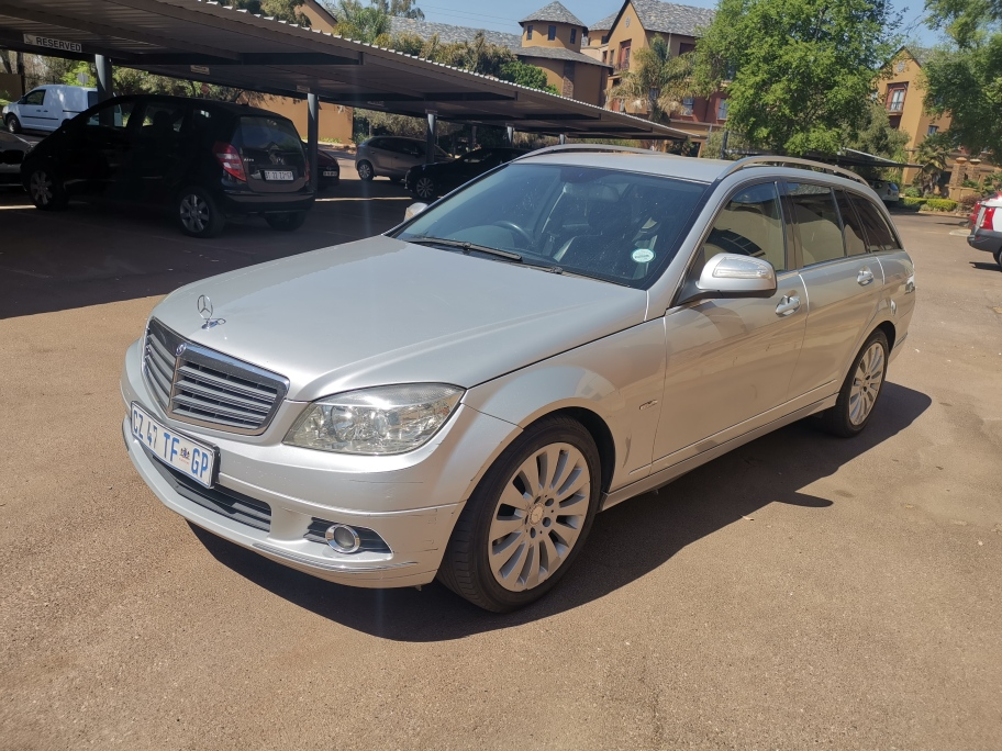 2009 Mercedes Benz C Class C180 Kompressor estate Elegance