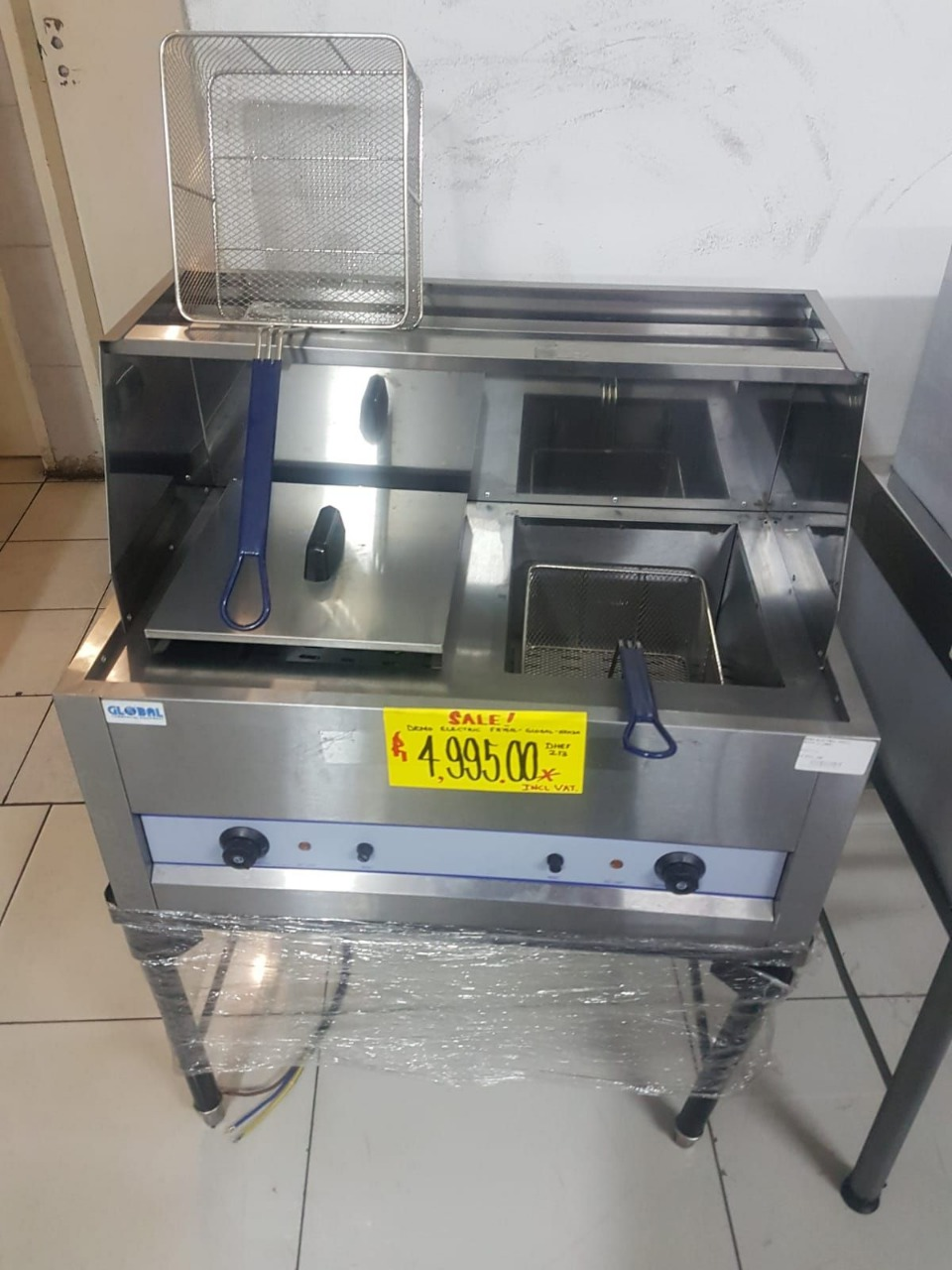 Demo Electric Fryer