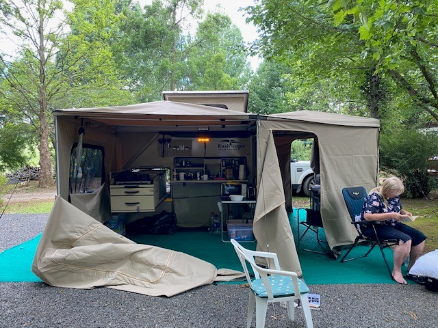 Off Road(4x4) Bush Lapa Vlooi Caravan 2020