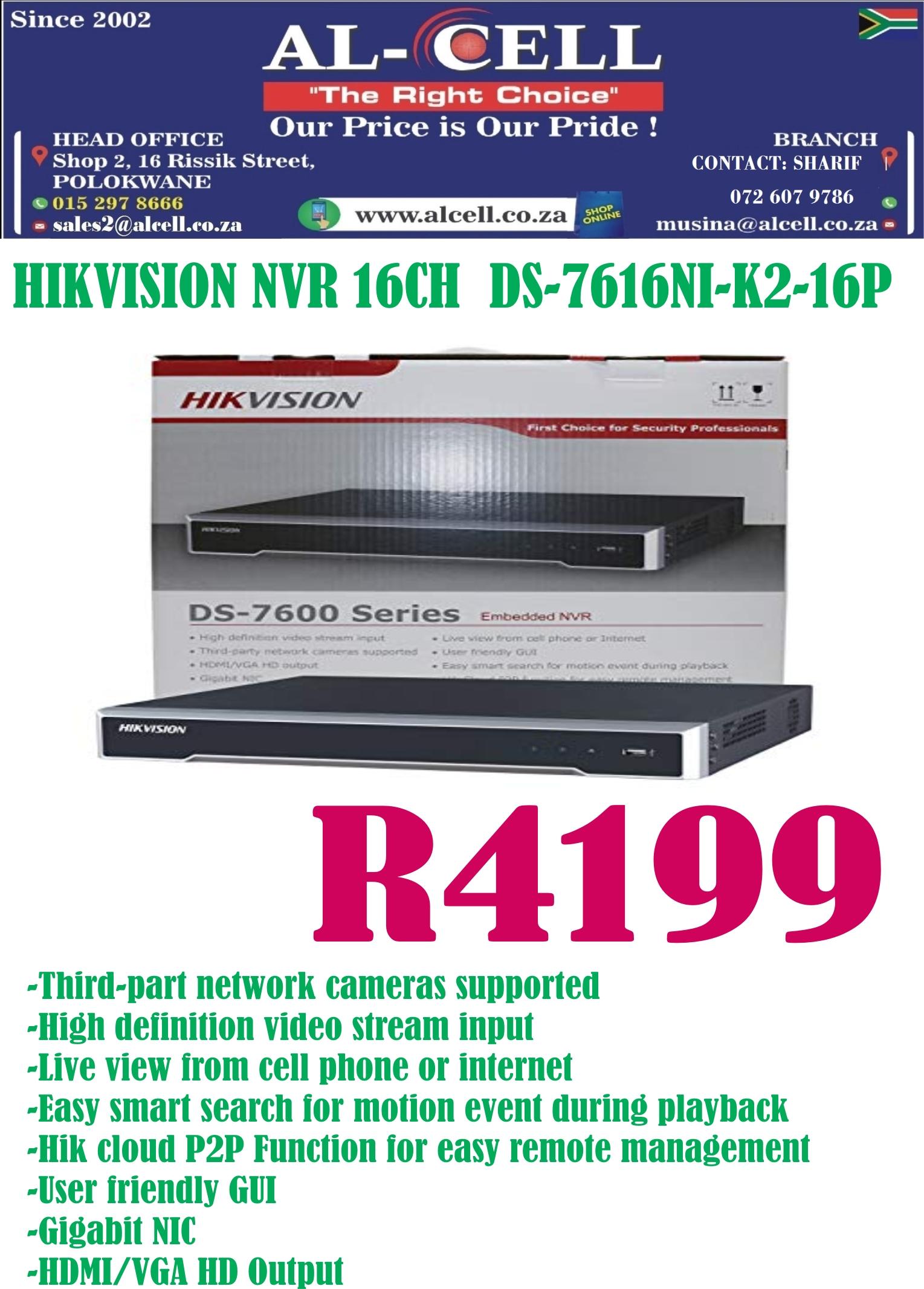 Secure Hikvision Nvr