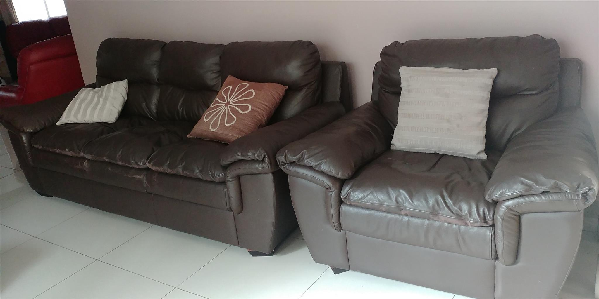 Used couches for sale at R4800.00