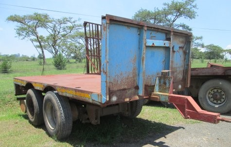 2 Axle PUP Trailer - Great for Around the FARM!