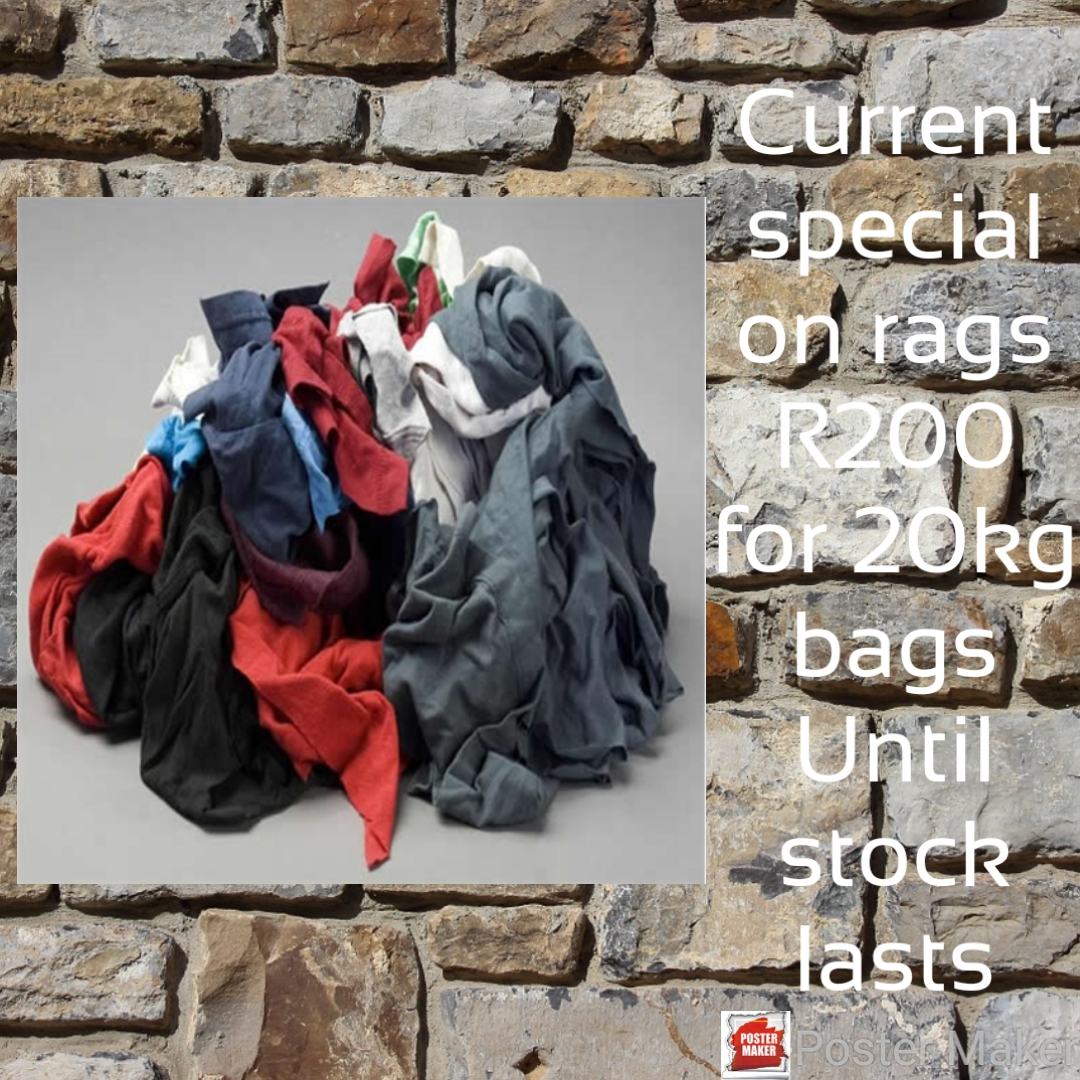 Cleaning rags on special