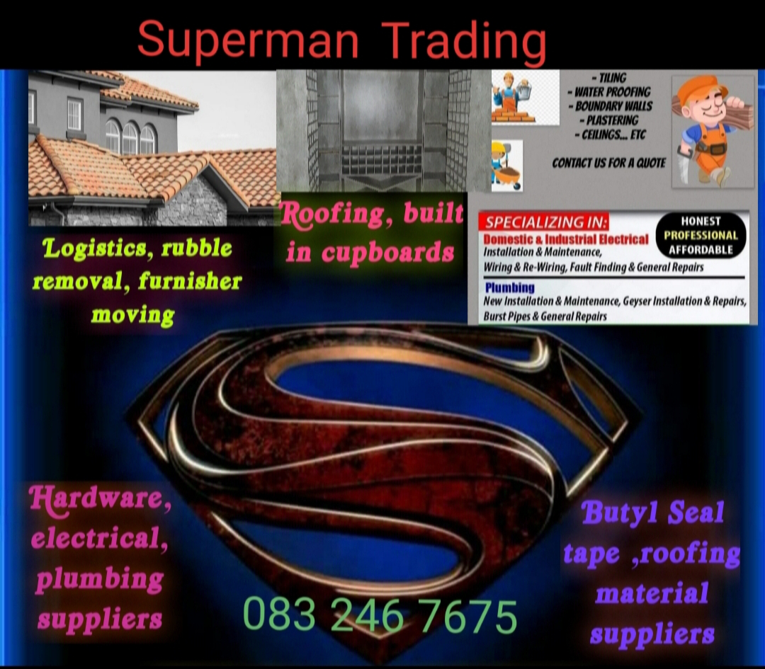 Superman Trading for your built in cupboards and roof trusses