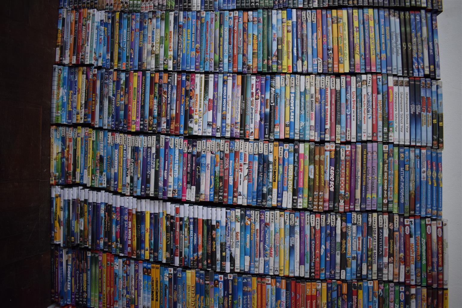 13 000 Original Dvds and series in Original covers Buy for home Start business or add to existing