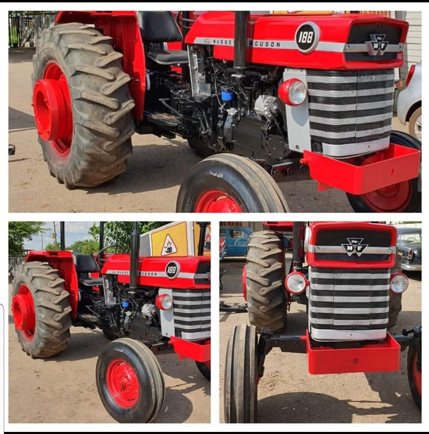 Massey Ferguson 188 2wd tractor
