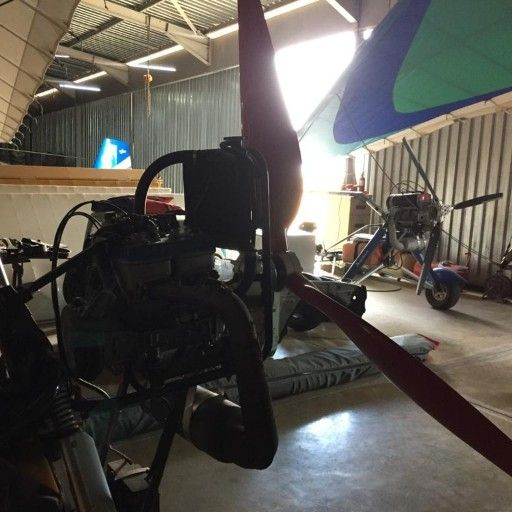 microlight  raptor 582