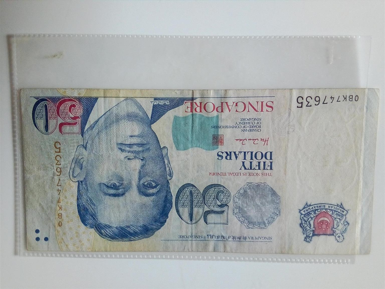 BANKNOTES FROM SINGAPORE, THAILAND AND THE UAE FOR SALE