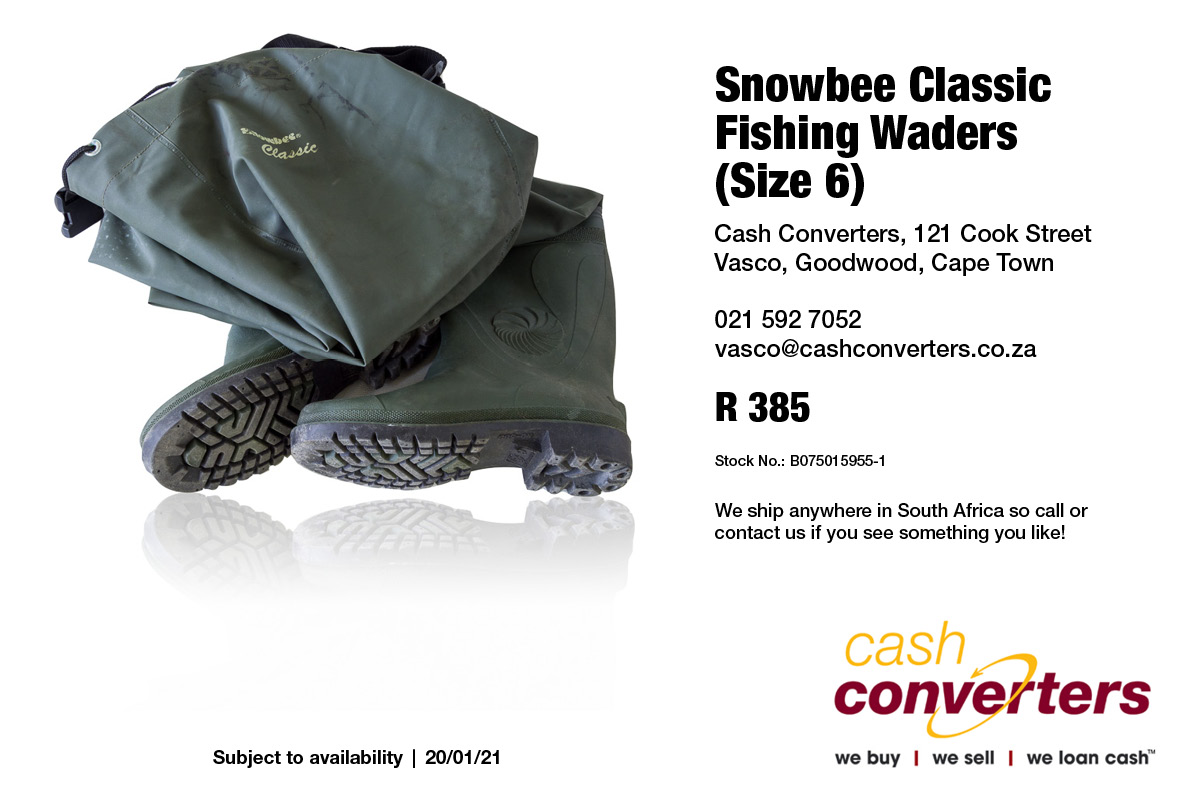 Snowbee Classic Fishing Waders (Size 6)