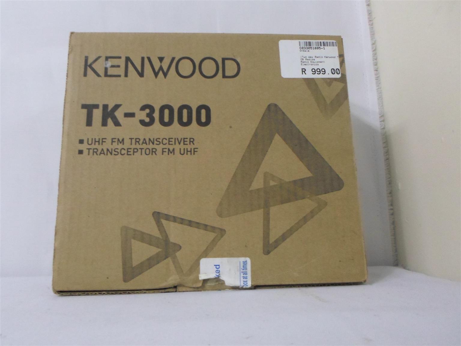 Kenwood TK-300 Two way Radio