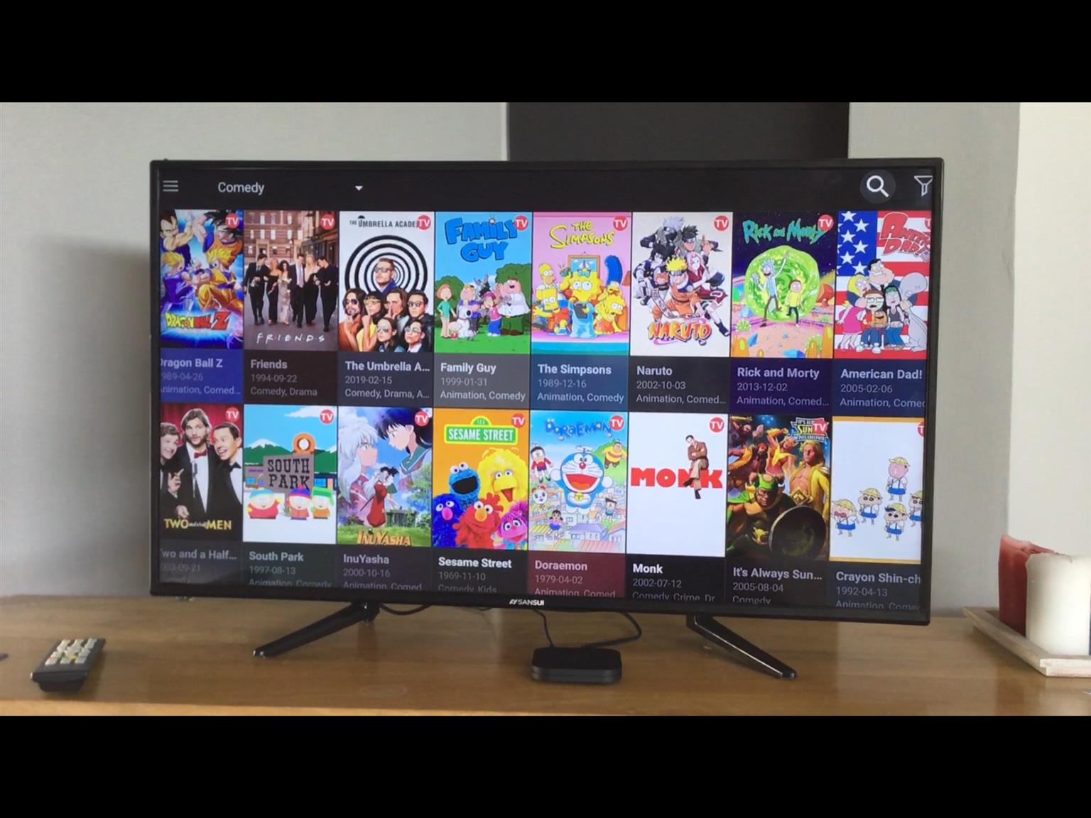 Xiaomi Mi Box S - live Tv, sky sports, series, movies. No subscriptions needed.