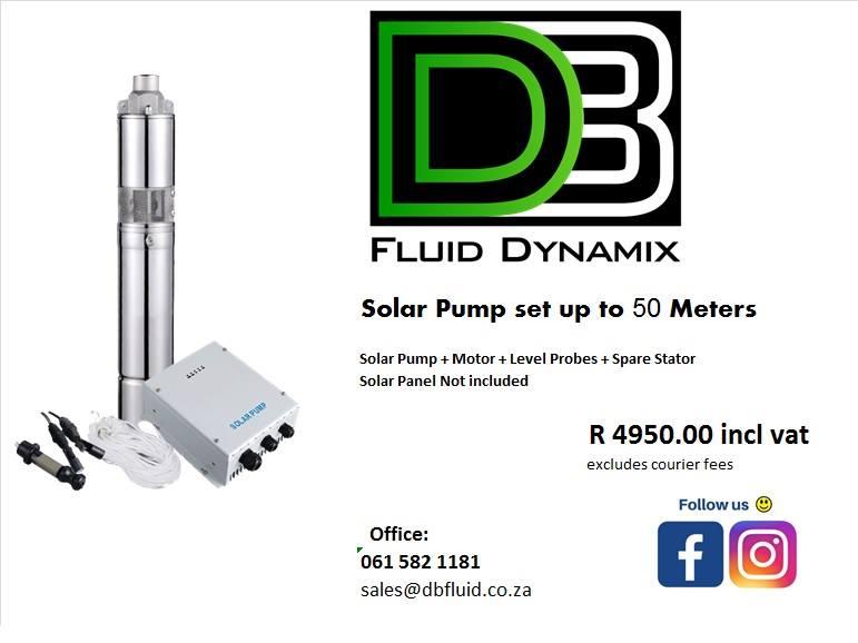 Solar Borehole pumps