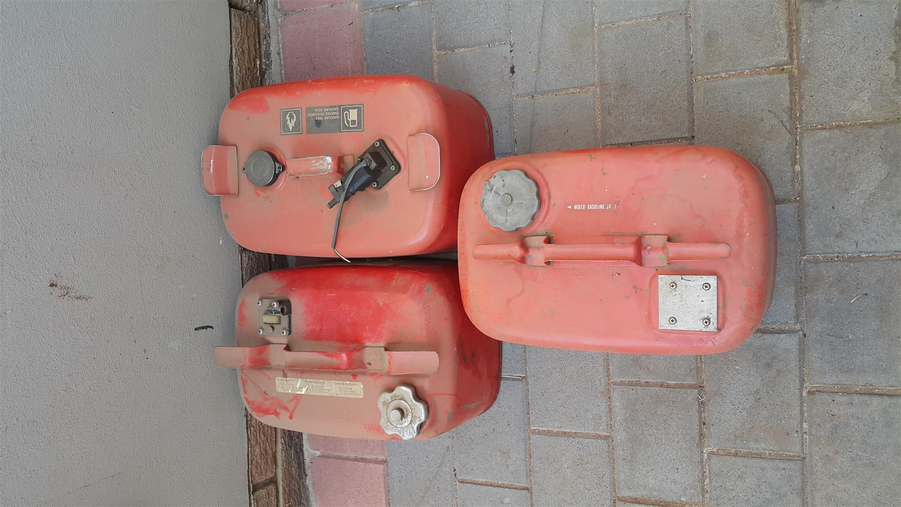 Two boat bodies plus two motors for sale
