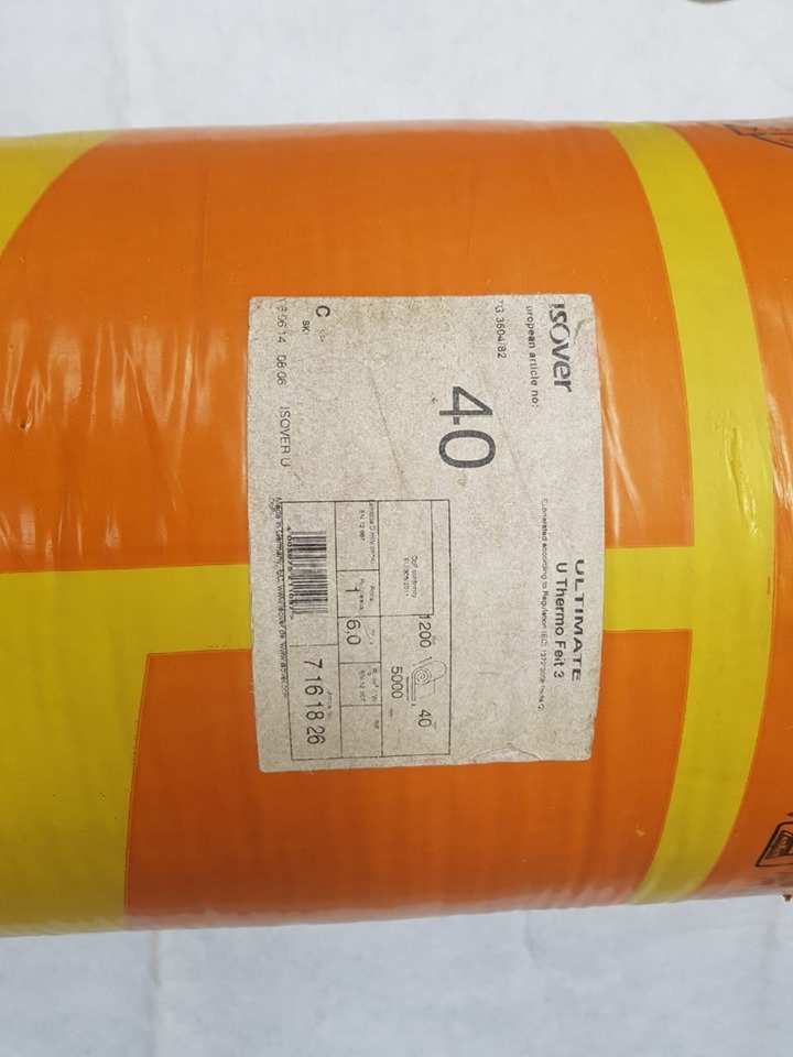 ISOVER ULTIMATE AEROLITE THERMO FELT FOR SALE