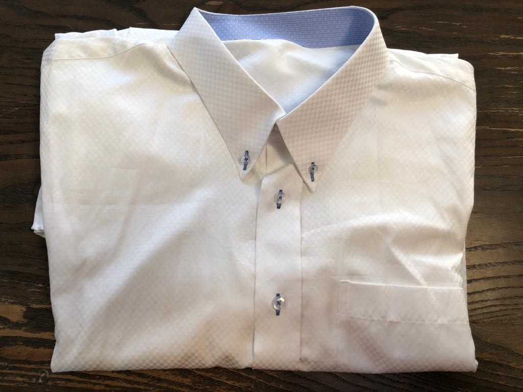 Formal and stylish Mens Lounge shirt - size equivalent to XXL/XXXL or neck size 20+