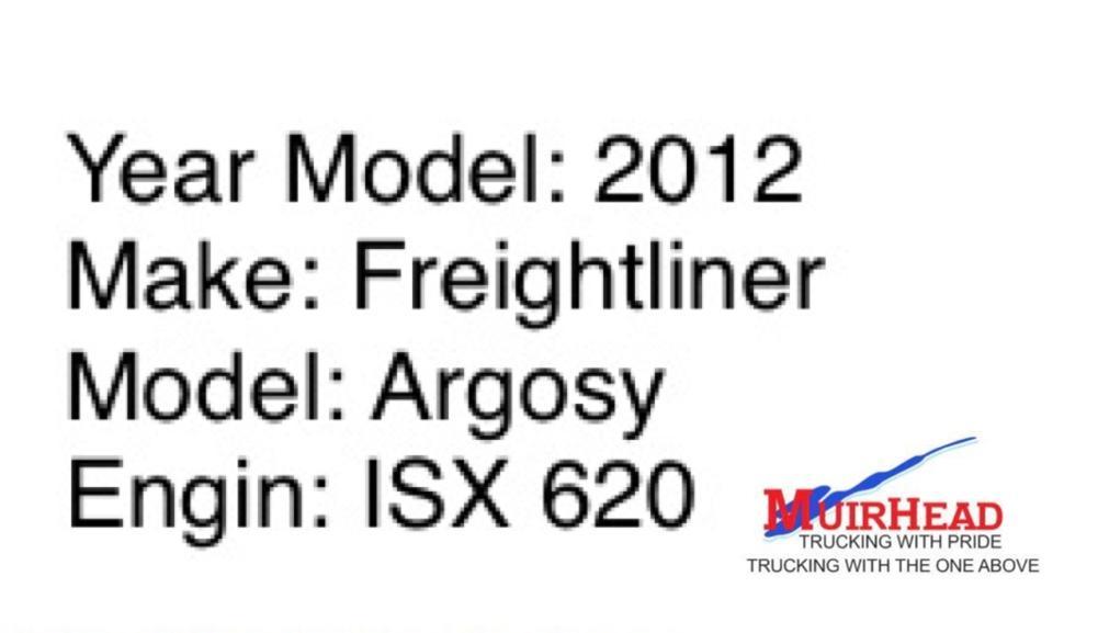 Freightliner Argosy 620 2012 Model