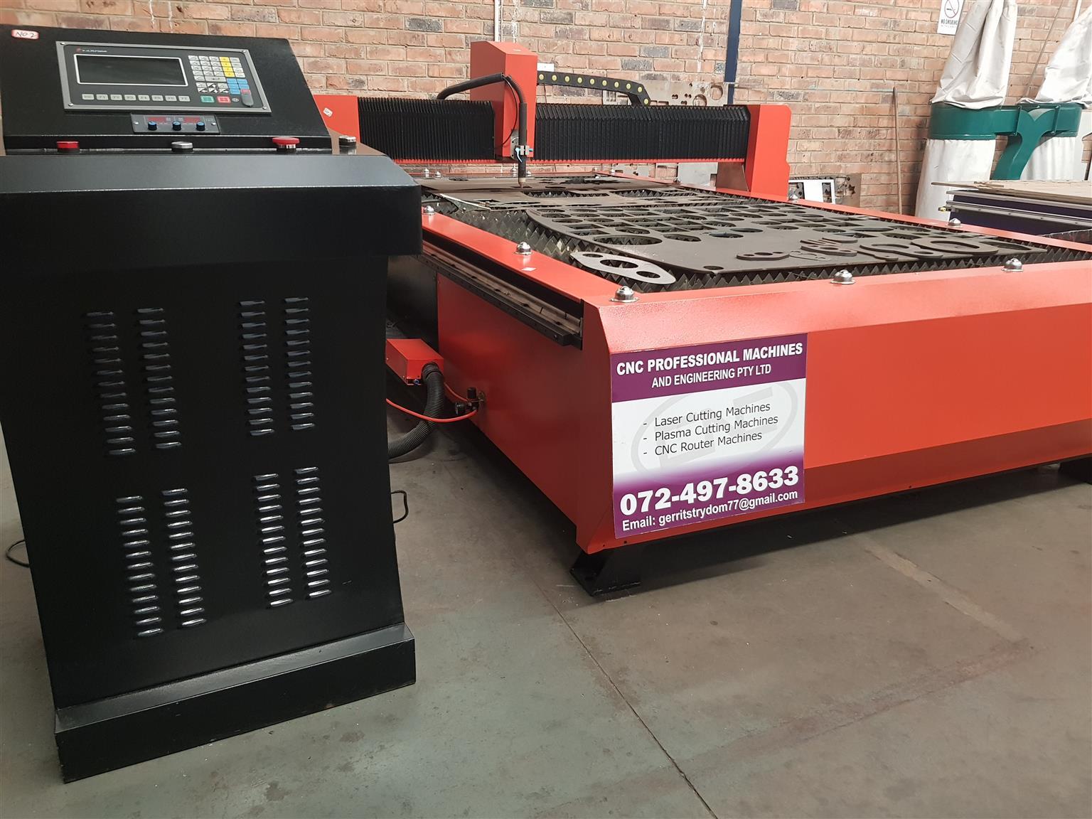 CNC Plasma Cutting Machine for Sale