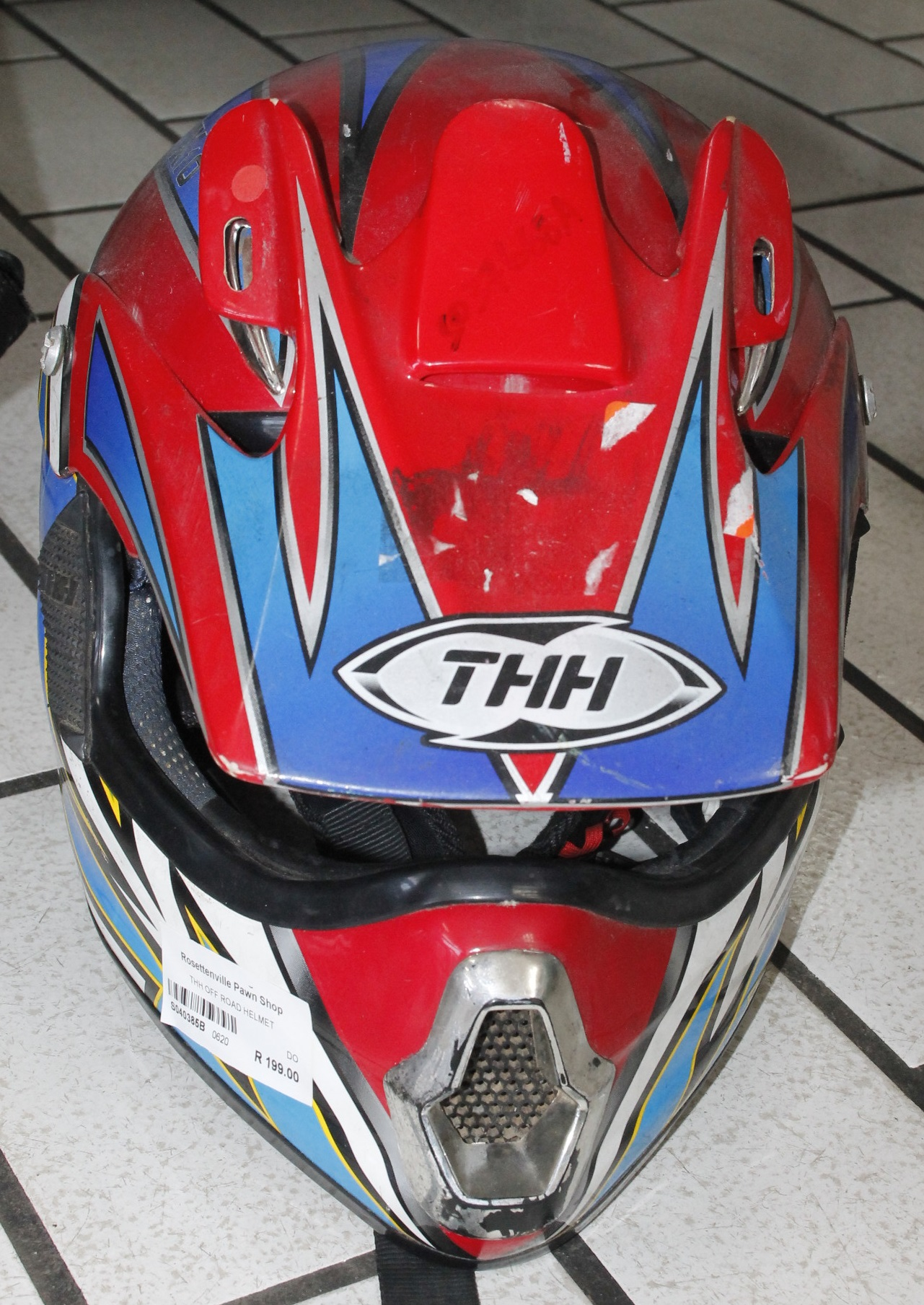Thh off road helmet S040385B #Rosettenvillepawnshop