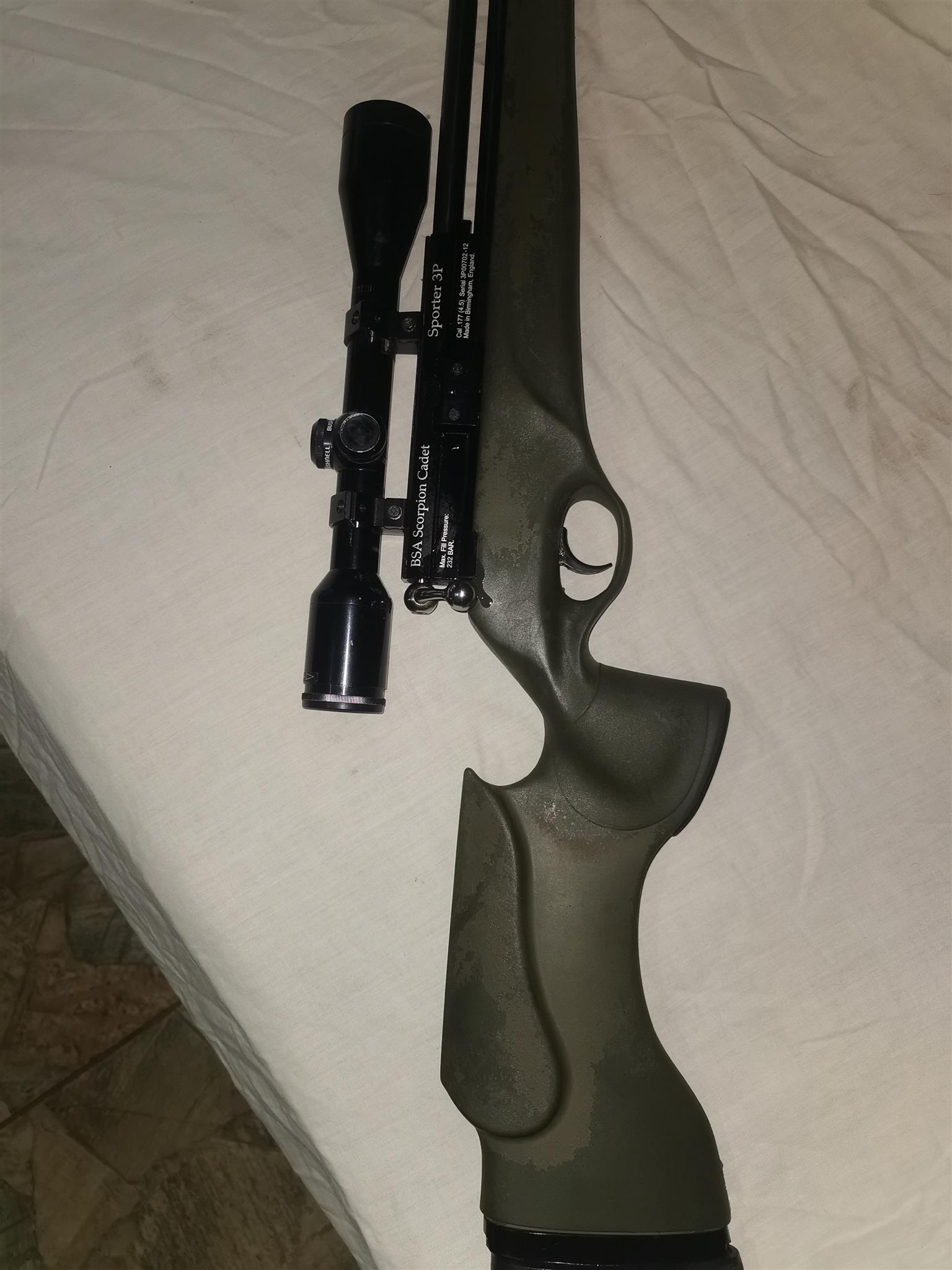 BSA Scorpion Cadet PCP Rifle