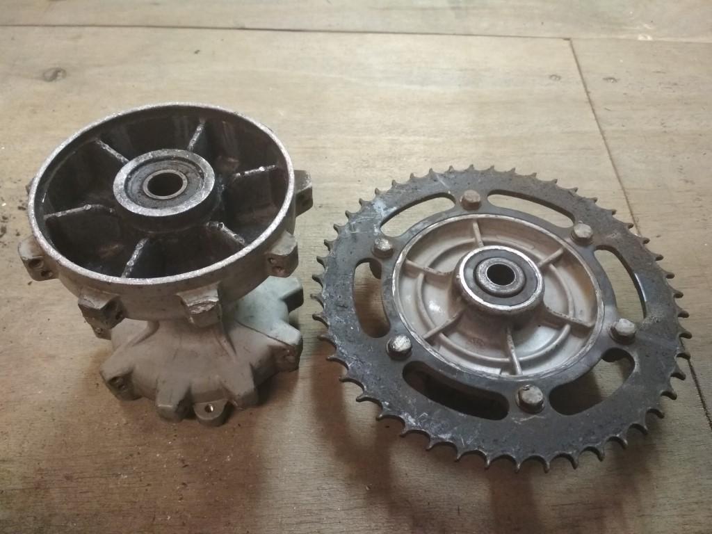 BMW F650GS Rear Wheel Hub