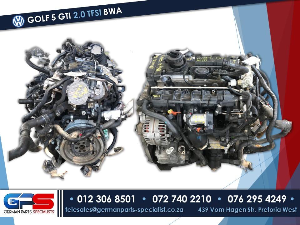 Volkswagen Golf 5 GTI 2.0 TFSI BWA Used Engine