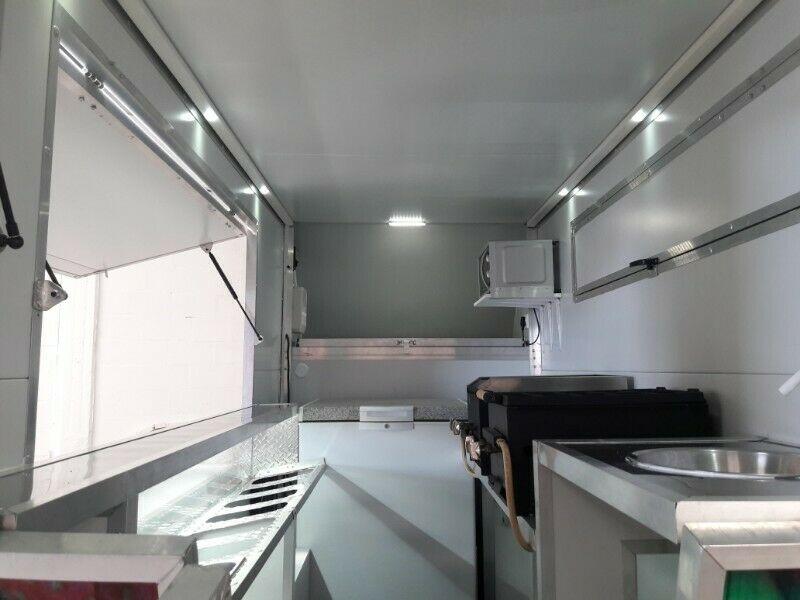 Mobile Kitchen Van for sale