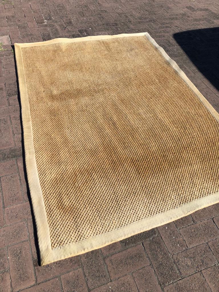 Sisal Coir Rug 230 x 160cm - great in any room!