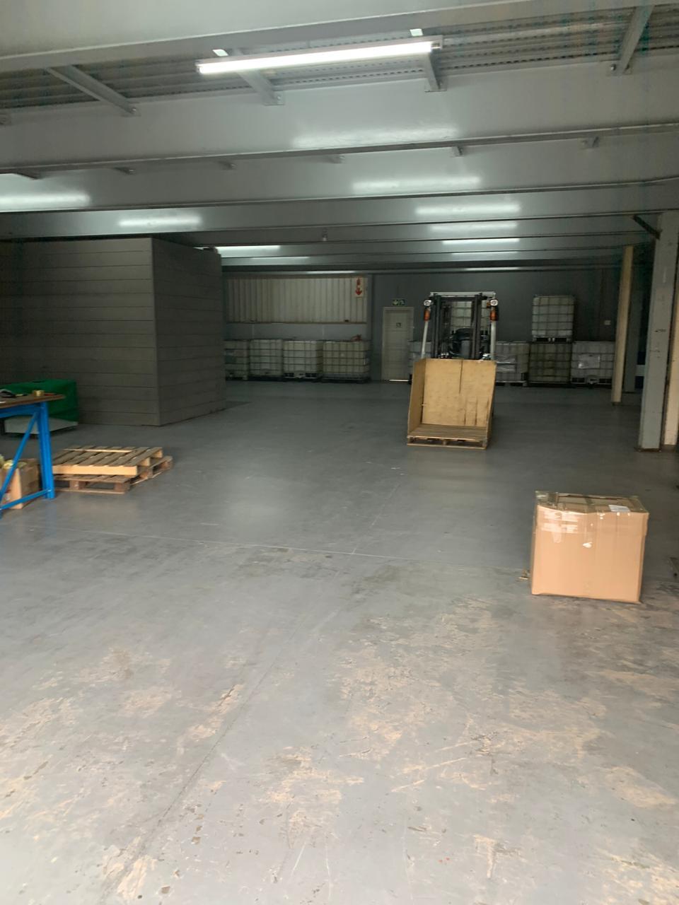 Second hand structural mezzanine floor for sale.