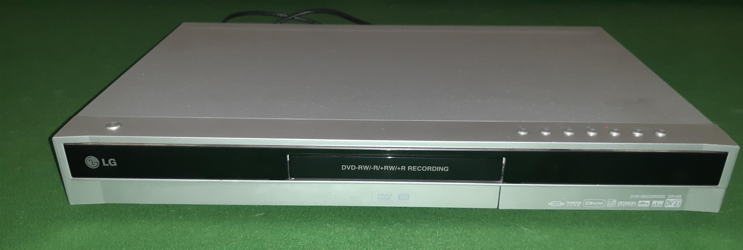 DVD recorder -  LG - model DR165 - read and write