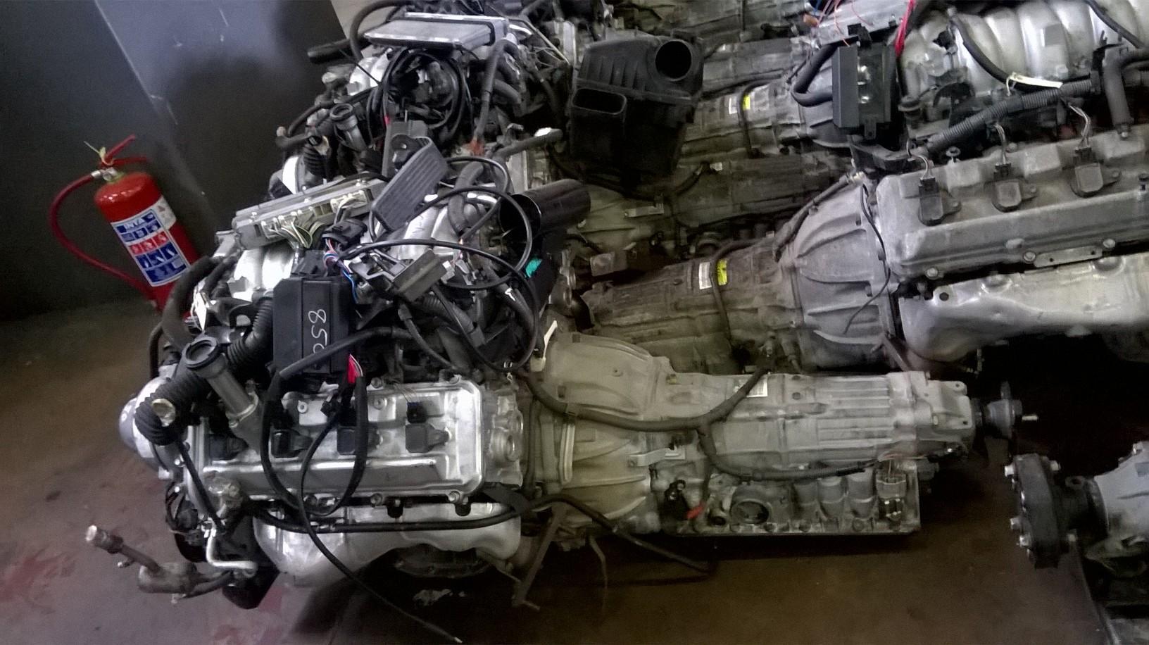 Lexus 4.0 V8 Prewired VVTi Engine & Auto Gearbox # 1UZ
