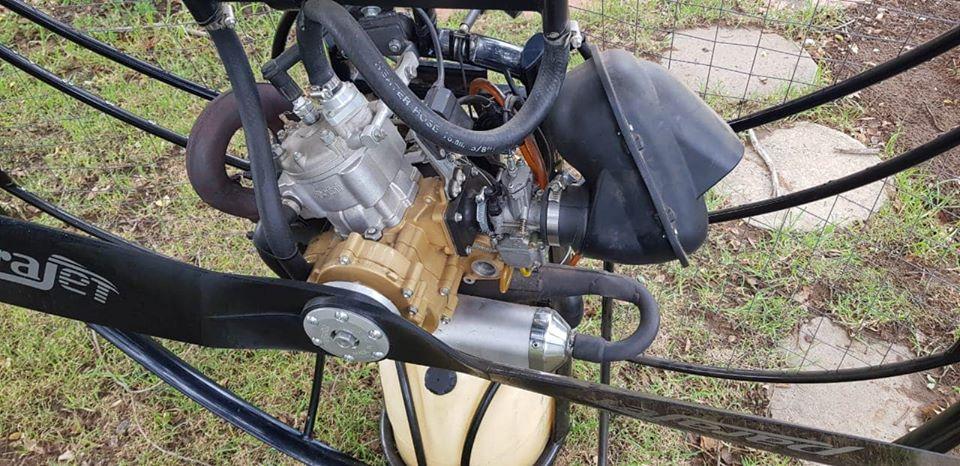 Powered Paragliger Polini Thor 250 paramotor
