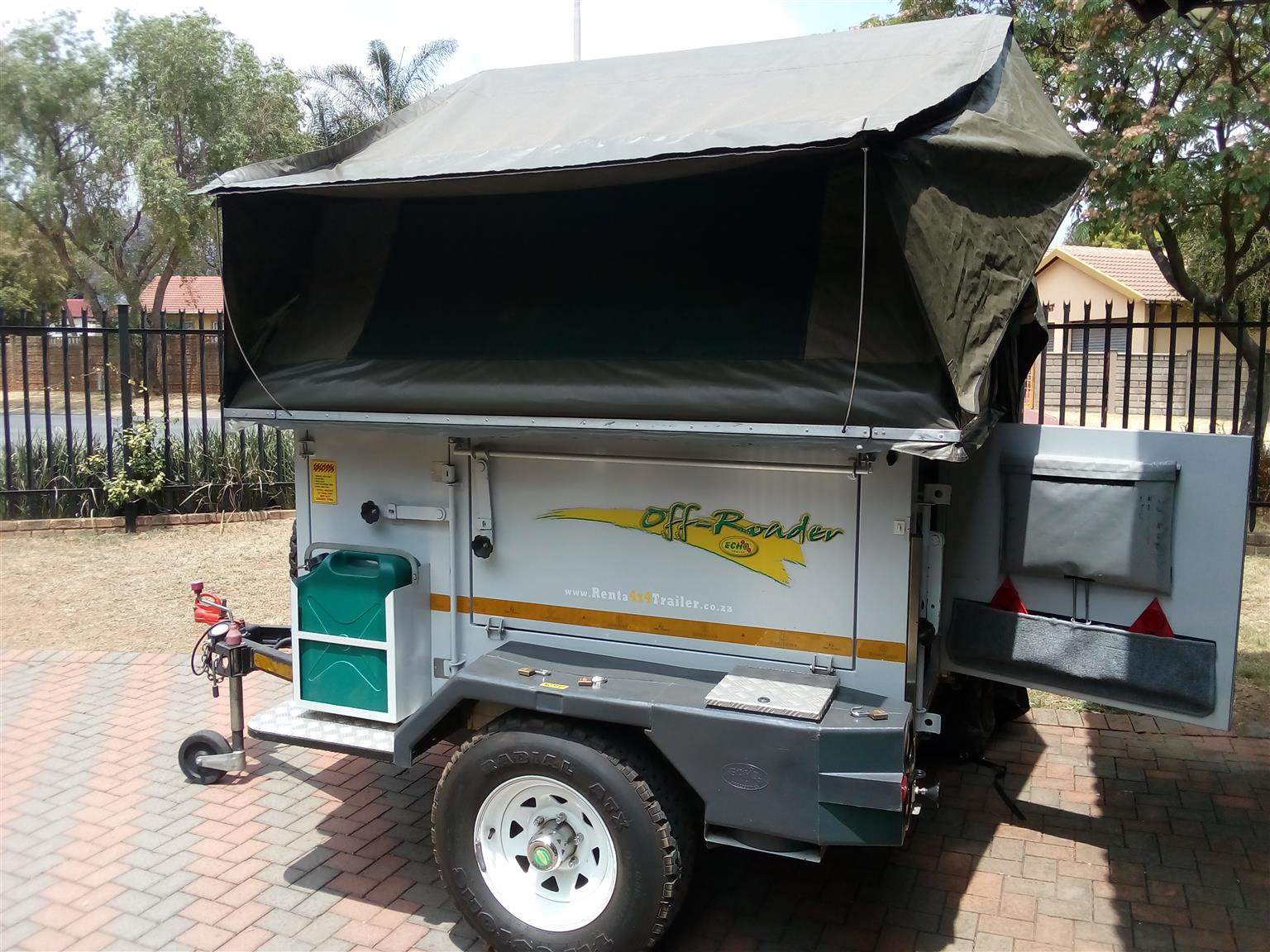 *** Profitable 4x4 Camping trailer rental business for sale ***
