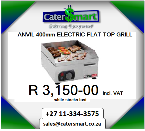 Anvil flat top griller
