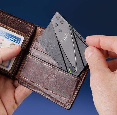IAIN SINCLAIR CARD FOLDING POCKET RAZOR