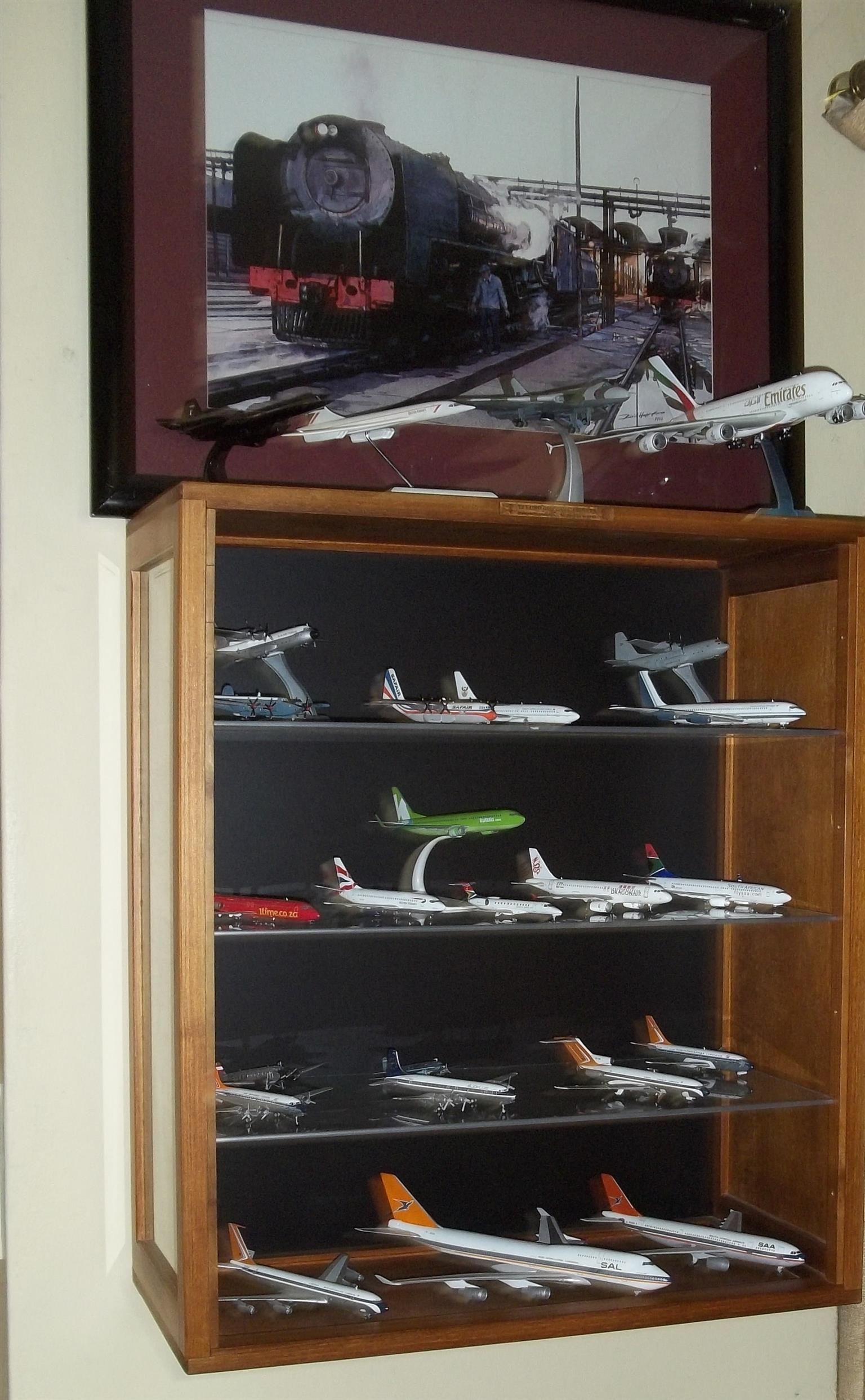 "CABINETS - Action Figures and Character Models ""Display Cabinets Custom made."