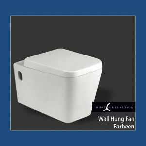 Sanitary : Wall Hung Pan (Farheen)