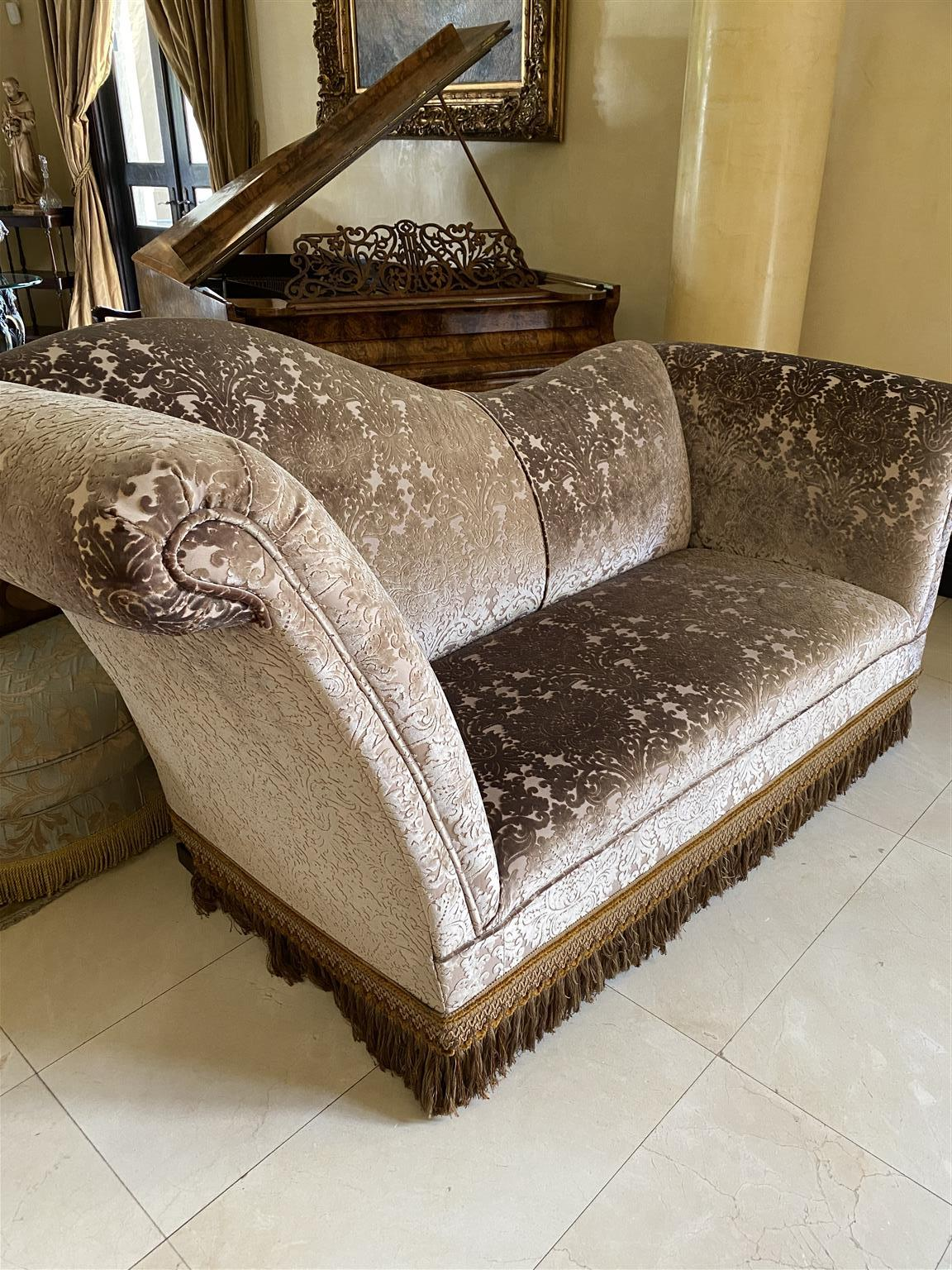 Beautiful high quality chaise couch