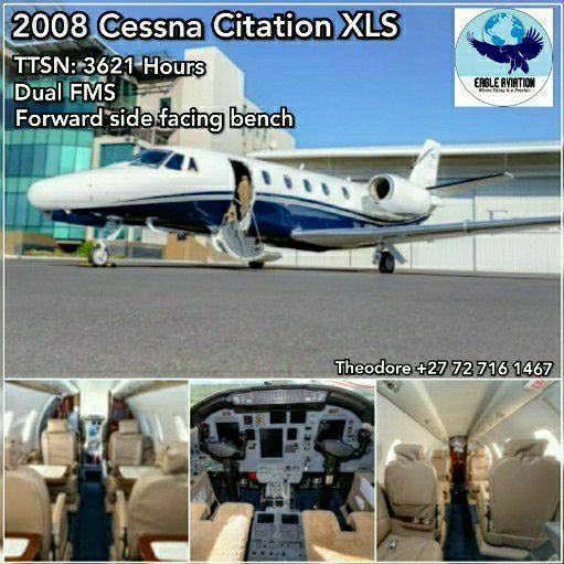 2008 CITATION XLS BUSINESS JET FOR SALE