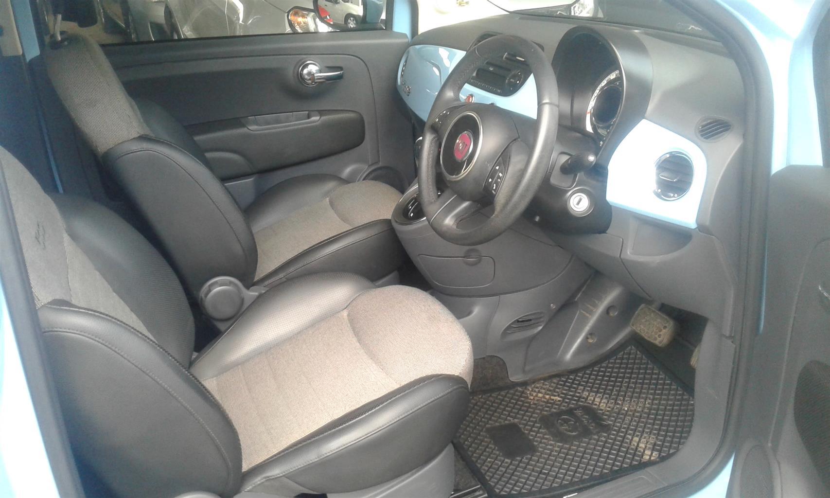 2012 Fiat 500 S cabriolet 1.4 auto