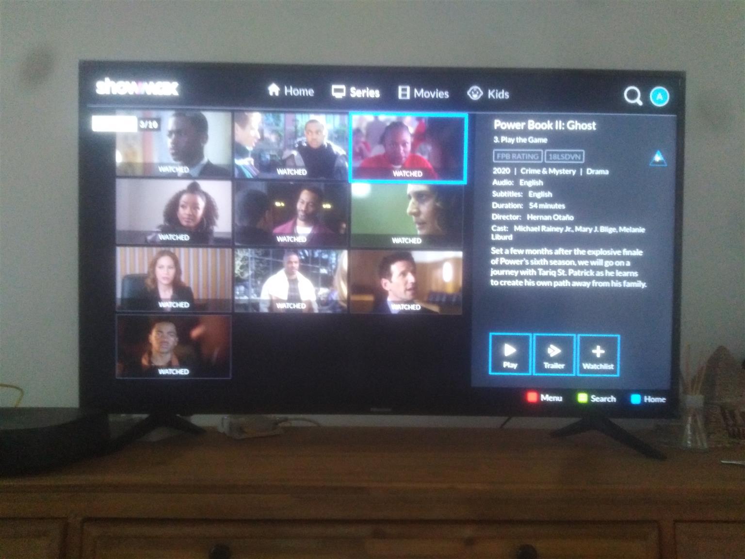 Hisense Smart Tv 55 inches
