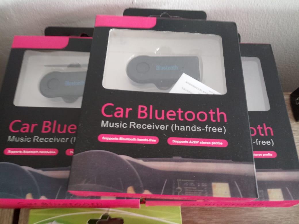 BEST SELLER: CAR WIRELESS BLUETOOTH AUX AUDIO RECEIVER - HANDS FREE