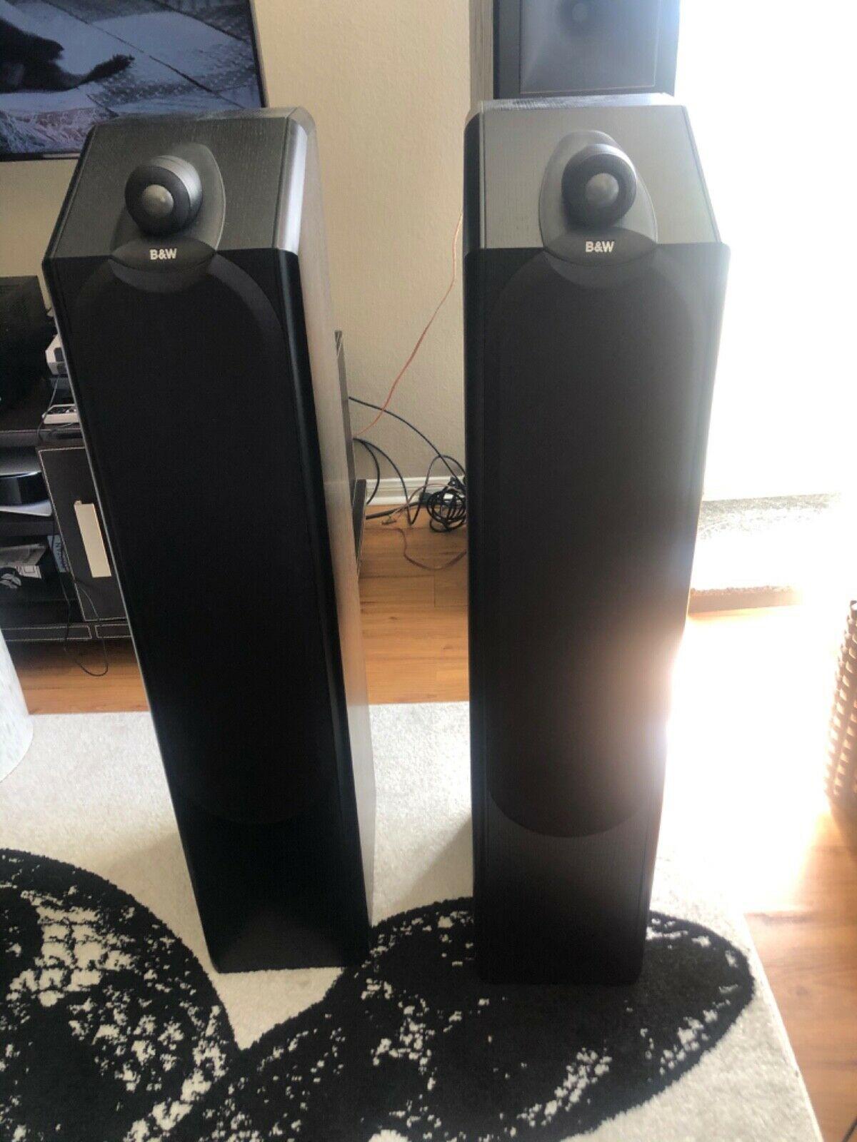 B&W Bowers&Wilkuns CDM9NT speakers