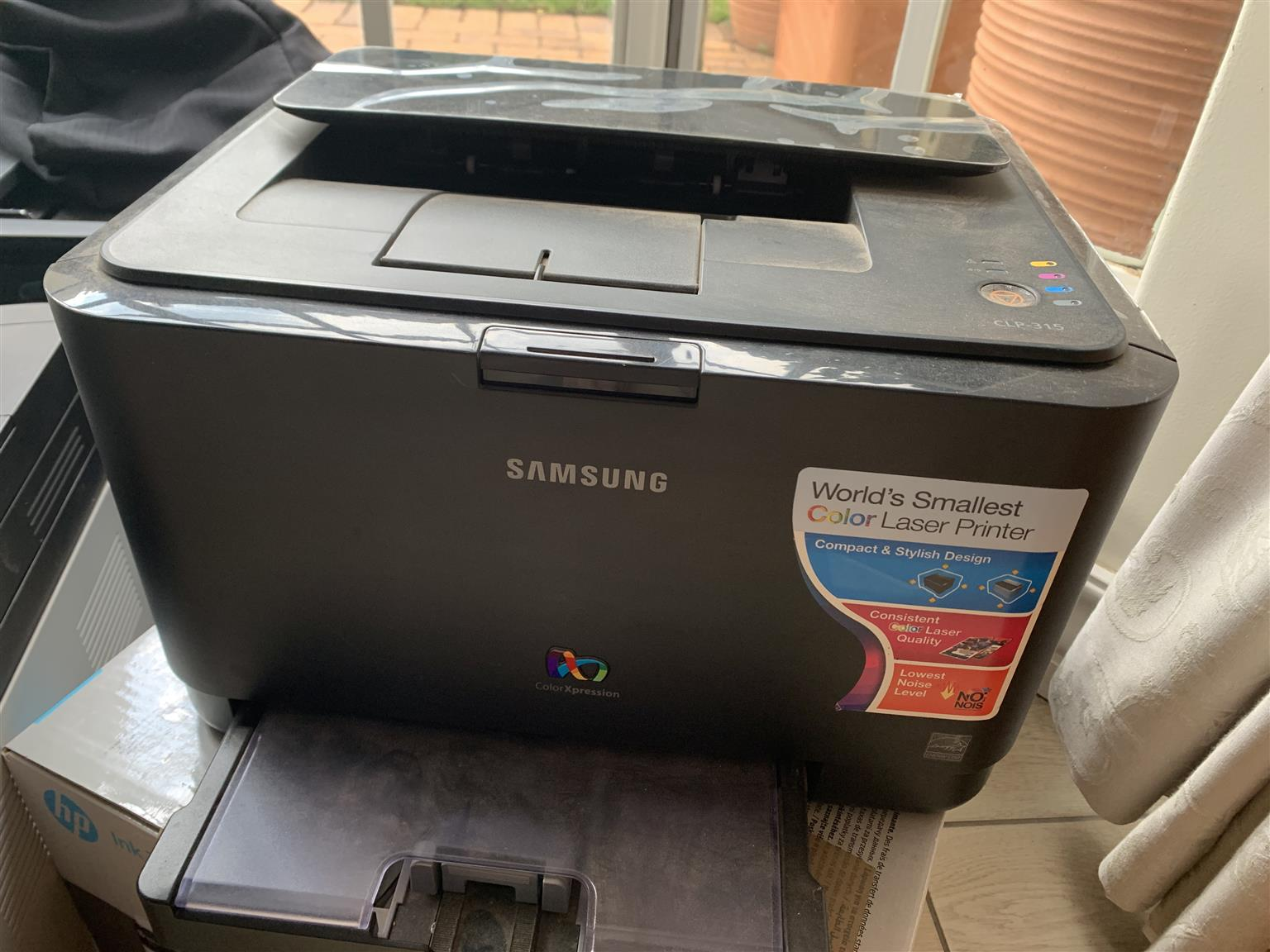 Printers for sale. One by HO and two by Samsung