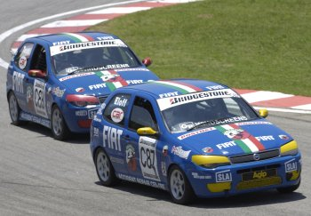 Fiat Palio production race car