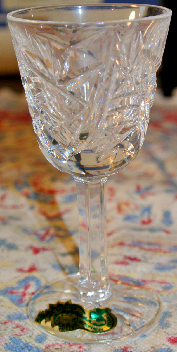 "Waterford crystal ""Claire"" range"