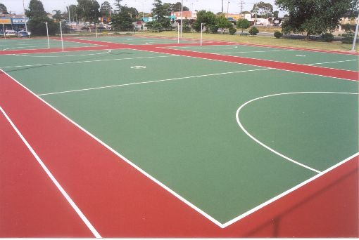 Construction and resurfacing of Tennis Courts