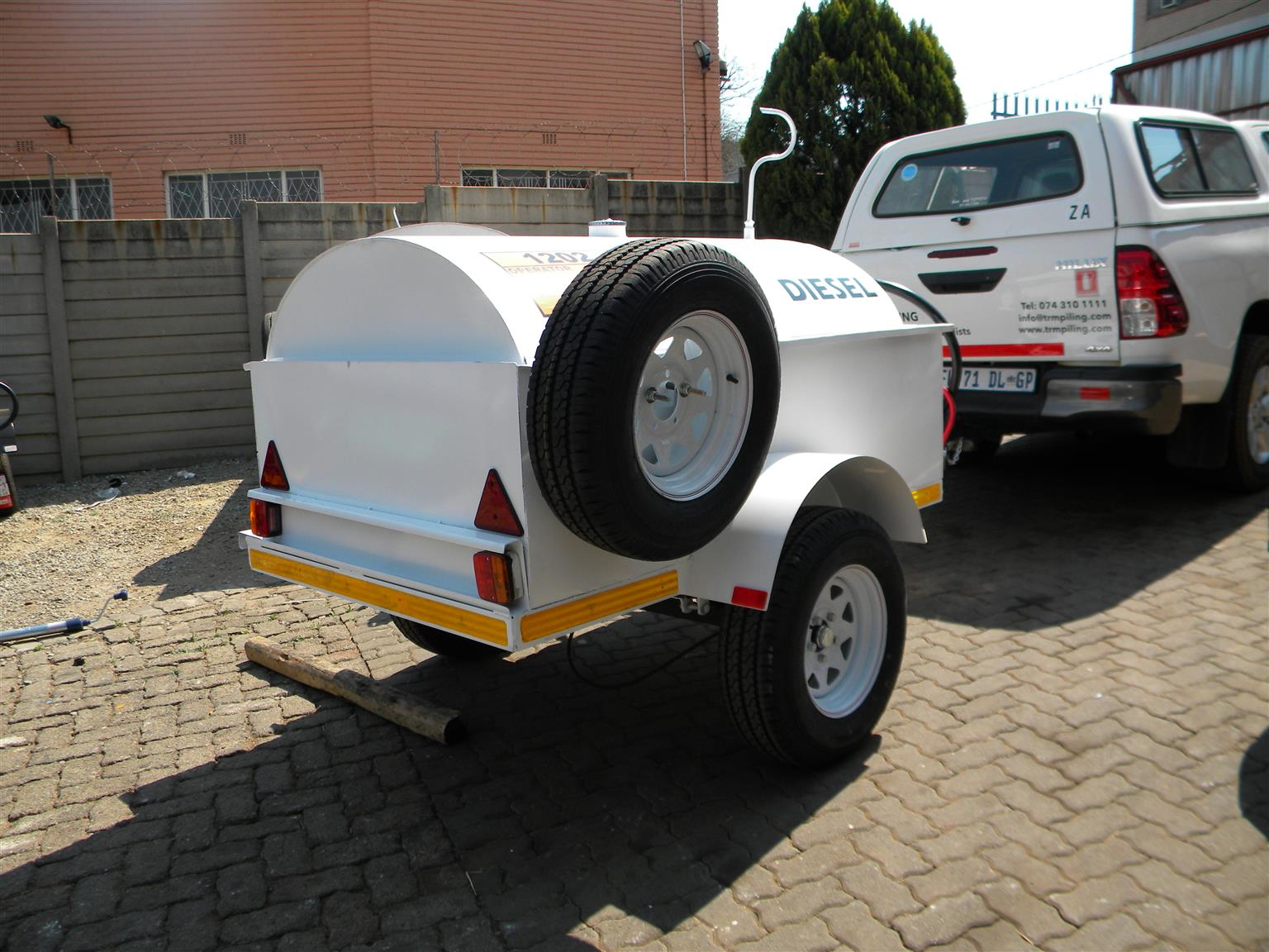 Bunded trailers