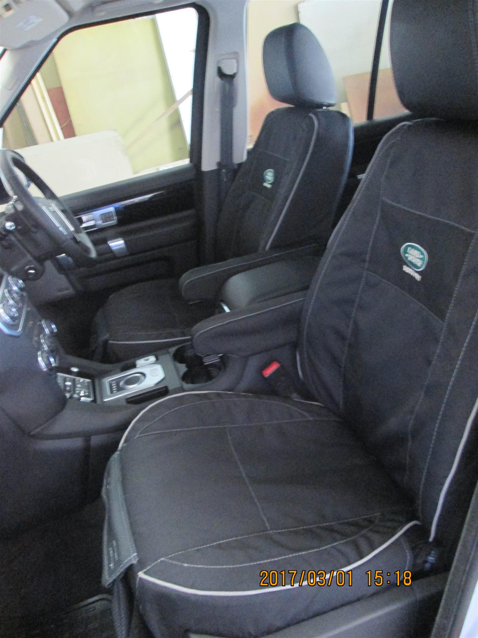 Custom made seat covers
