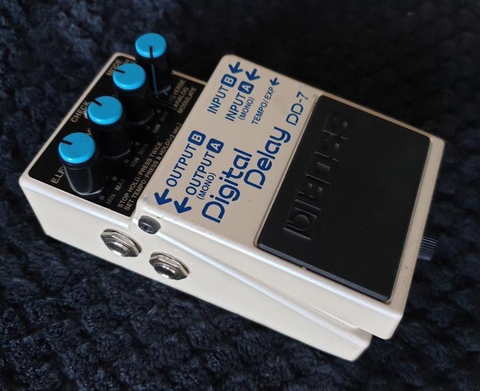 boss dd 7 digital delay guitar effects pedal junk mail. Black Bedroom Furniture Sets. Home Design Ideas